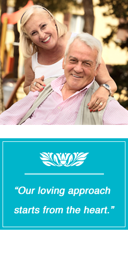 our loving approach starts from the heart
